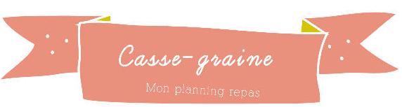 planning repas