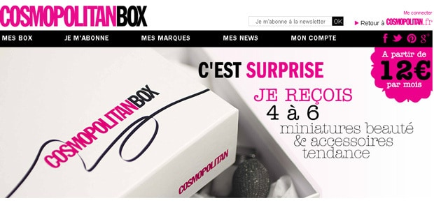 Box Beauté Cosmopolitan Box