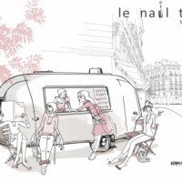 Le Nail TRUCK GLOSS'UP débarque à Paris
