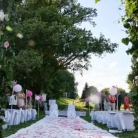Déco mariage : Cérémonie extérieure