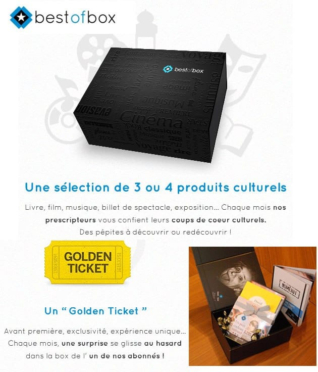 Box culturelle Best Of Box